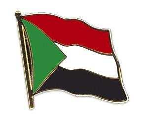 Flaggen-Pins Sudan