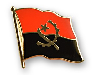Flaggen-Pins Angola
