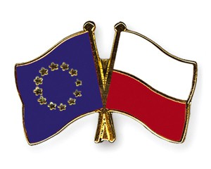 Freundschaftspins Europa-Polen