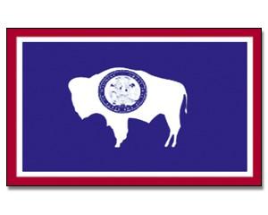 Flagge Wyoming