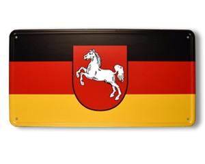 Blechschild Niedersachsen