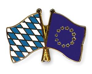 Freundschaftspins Bayern-Europa