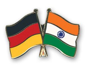 Freundschaftspins Deutschland-Indien