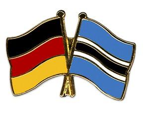 Freundschaftspins Deutschland-Botsuana
