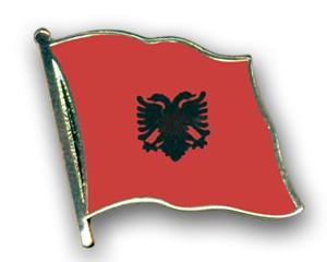 Flaggen-Pins Albanien