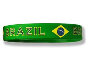 Silikonarmband Brasilien