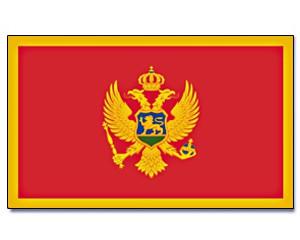 Flagge Montenegro