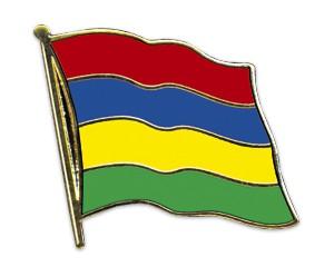 Flaggen-Pins Mauritius