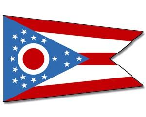 Flagge Ohio
