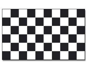 Stock-Flagge Zielflagge