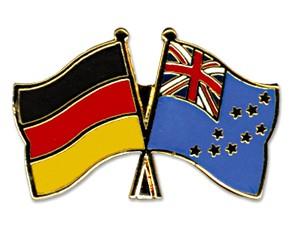 Freundschaftspins Deutschland-Tuvalu