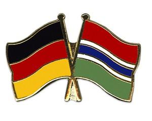 Freundschaftspins Deutschland-Gambia