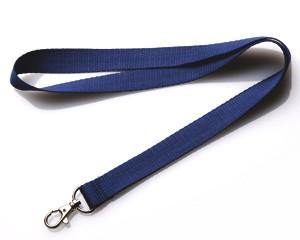 Schlüsselband 20 mm dunkelblau