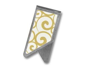 Büroklammer DeltaClips Goldene Ornamente