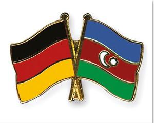 Freundschaftspins Deutschland-Aserbaidschan