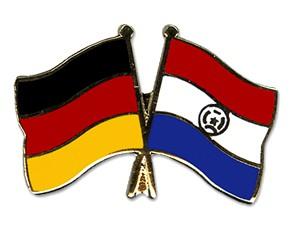 Freundschaftspins Deutschland-Paraguay