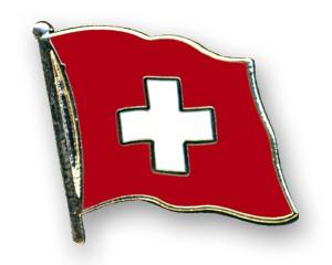 Flaggen-Pins Schweiz