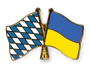 Freundschaftspins Bayern-Ukraine