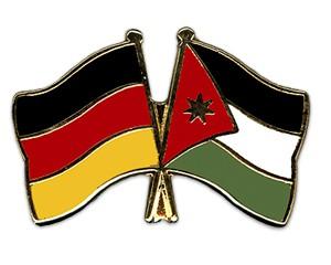 Freundschaftspins Deutschland-Jordanien