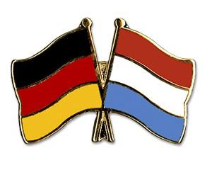 Freundschaftspins Deutschland-Luxemburg