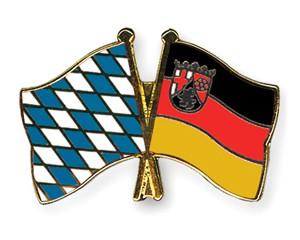 Freundschaftspins Bayern-Rheinland-Pfalz