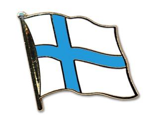 Flaggen-Pins Finnland