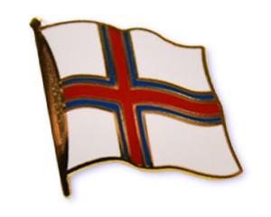 Flaggen-Pins Färöer