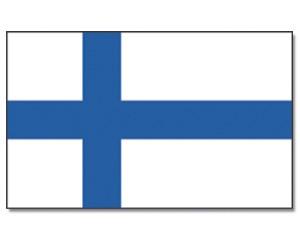 Stock-Flagge Finnland