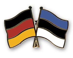 Freundschaftspins Deutschland-Estland