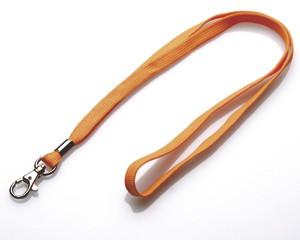 Schlüsselband 10 mm orange