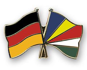 Freundschaftspins Deutschland-Seychellen