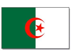 Flagge-Algerien