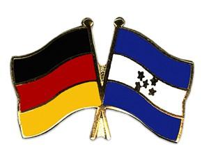 Freundschaftspins Deutschland-Honduras
